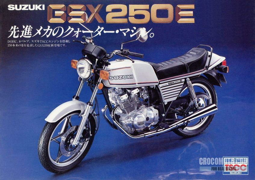 Suzuki Gsx 250 E 1981